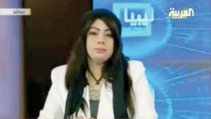 Libye – L'assassinat barbare de Hala Misrati, présentatrice télé pro-Kadhafi [vidéo]  dans Libye mid_libyan-anchor-300x169