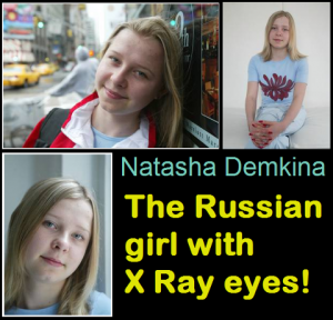 La fille aux yeux rayons X  dans Etrange Insolite natasha