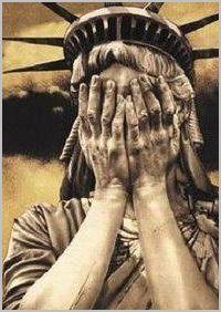 Washington pense que vous êtes stupides dans Bêtise humaine statue